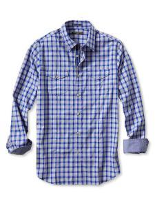 Men's Slim-Fit Checkered Utility Shirt @ Banana Republic