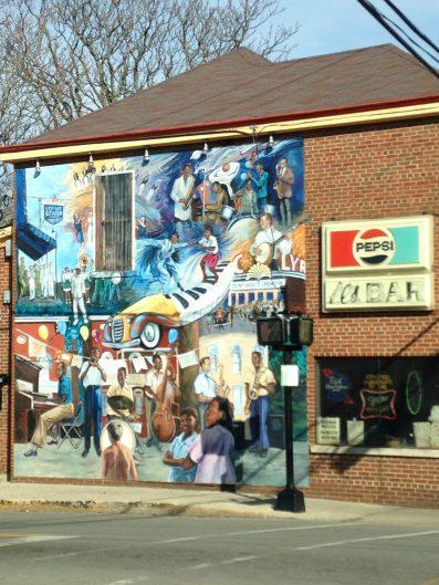 Al's Bar Mural
