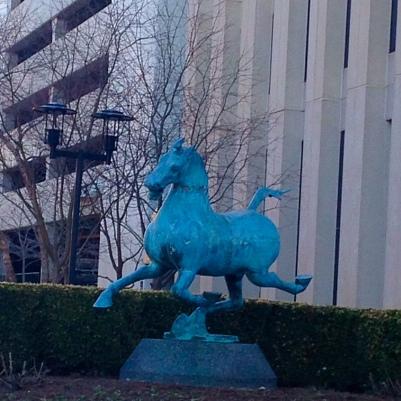 The Flying Horse of Gansu