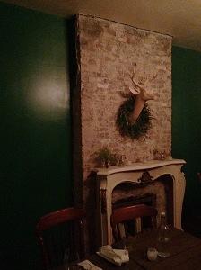 Enoteca Fireplace