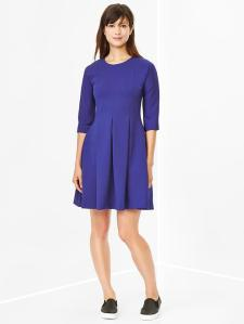 Flared Ponte Dress @ Gap