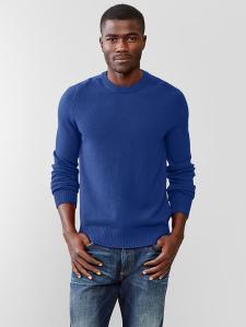 Lambswool Crewneck Sweater @ Gap