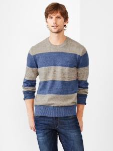 Marled Stripe Sweater @ Gap