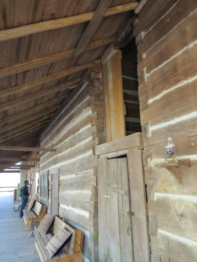 Charit Creek Lodge Porch