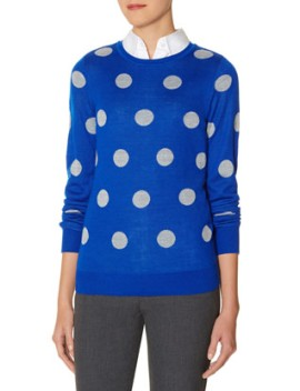 Polka Dot Sweater @ The Limited