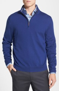 Half-Zip Merino Wool Sweater @ Nordstrom