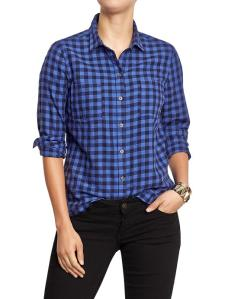 Plaid Flannel @ Old Navy