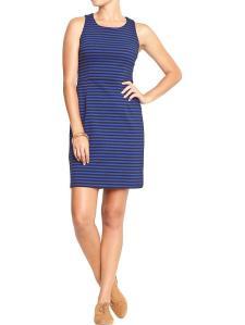 Striped Sheath Dress @ Old Navy