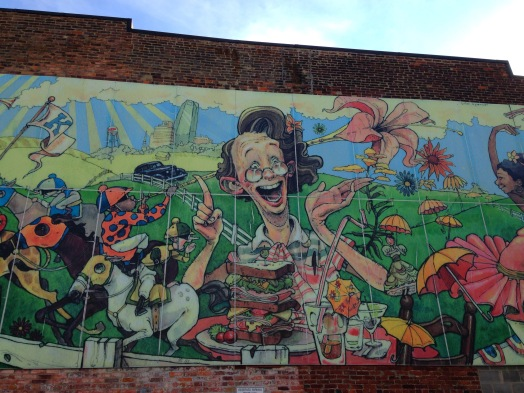 Wonderlandian Mural of Lexington