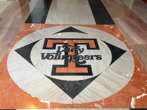 Lady Vols Floor Medallion
