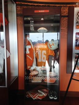 Peyton Manning Replica Locker