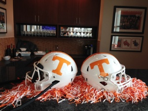 UT Football Helmets