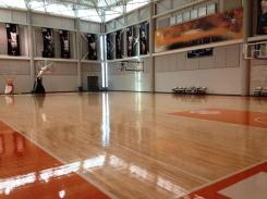 UT Men's Basketball Practice Court