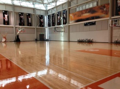 UT Men's Basketball Practice Court