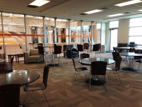 UT Basketball Rec Room